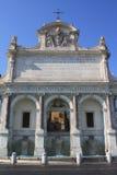 Fontaine d'Acqua Paola à Rome (Italie) Photo libre de droits