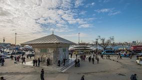 Fontaine d'Ahmed III, Uskudar, Turquie banque de vidéos
