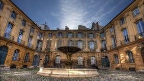Fontaine d'Aix en Provence Photographie stock libre de droits