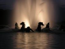 Fontaine d'Apollo à Versailles Image libre de droits
