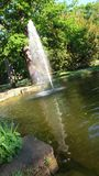 Fontaine d'arc-en-ciel Image stock