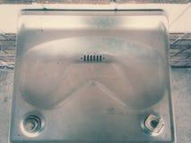 Fontaine d'eau à partir de dessus Photo stock
