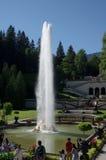 Fontaine d'eau dans le palais de Linderhof, Allemagne Photos stock