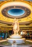 Fontaine d'eau de Caesars Palace images libres de droits