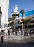 Fontaine d'eau de danse Photo libre de droits
