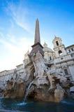 Fontaine d'eau en Italie Images libres de droits