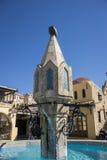 Fontaine d'eau en Rhodes Old Town, Grèce Images stock
