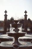 Fontaine d'eau figée Images libres de droits