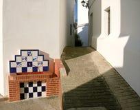 Fontaine d'eau potable de village, Espagne Photographie stock libre de droits