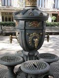 Fontaine d'eau publique Barcelone Images libres de droits