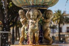 Fontaine d'eau urbaine Photo libre de droits