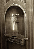 Fontaine d'eau victorienne photographie stock libre de droits