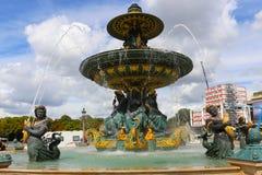 Fontaine d'endroit de Concorde Image stock