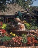 Fontaine d'entrée de marché de Disney Images stock