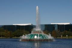 Fontaine d'Eola de lac Photos libres de droits
