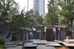 Fontaine d'Ira Keller à Portland, Orégon photographie stock