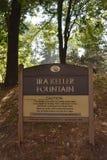Fontaine d'Ira Keller à Portland, Orégon images stock