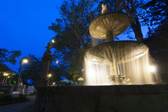 Fontaine dans Ataco, Salvador Photo stock