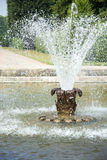 Fontaine dans des jardins de Herrenhausen, Hanovre, basse-saxe, allemande Photos stock