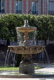 Fontaine dans le DES VOSGES d'endroit Photo libre de droits