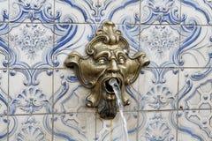 Fontaine dans Teresopolis images stock