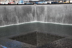 Fontaine de 911 mémoriaux Photo libre de droits
