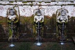 Fontaine de Bali Photographie stock libre de droits