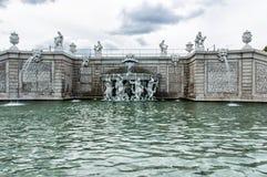 Fontaine de belvédère photographie stock