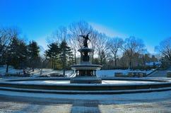 Fontaine de Bethesda Images libres de droits