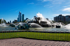 Fontaine de Buckingham, Chicago Photographie stock libre de droits