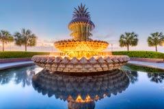 Fontaine de Charleston, la Caroline du Sud, Etats-Unis Photographie stock