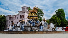 Fontaine de Colchis Images libres de droits