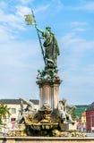Fontaine de Franconia à la résidence de Wurtzbourg en Allemagne photo libre de droits