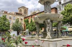 Fontaine de Gigantones Image libre de droits