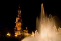 Fontaine de grand dos de Séville Espagne Photo stock
