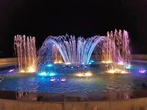 Fontaine de Héraklion Photographie stock