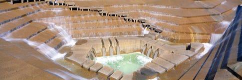 Fontaine de jardin de l'eau Photo stock