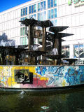Fontaine de l'amitié des nations - Berlin Image stock
