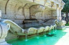 Fontaine de l'Italie, Rome Images libres de droits