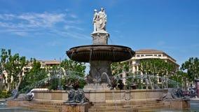 Fontaine de la Rotonde Stock Images