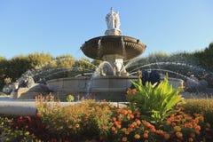 Fontaine de la Rotonde Fotografia Stock