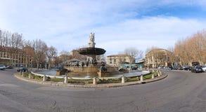 Fontaine de la Rotonde Royalty Free Stock Photo