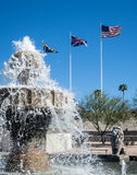 Fontaine de Lake Havasu Images stock