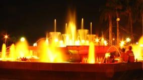 Fontaine de lumière Images stock