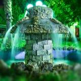 Fontaine de magicien Photos stock