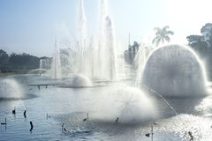 Fontaine de Manille photo stock