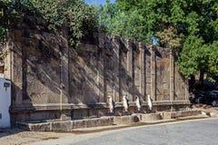 Fontaine de Martinho, en Castelo de Vide, Portugal Photo libre de droits