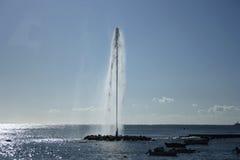 Fontaine de mer Image stock