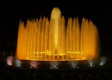 Fontaine de Montjuic (magie) à Barcelone #6 Photos stock