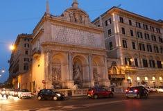 Fontaine de Moïse à Rome Images stock